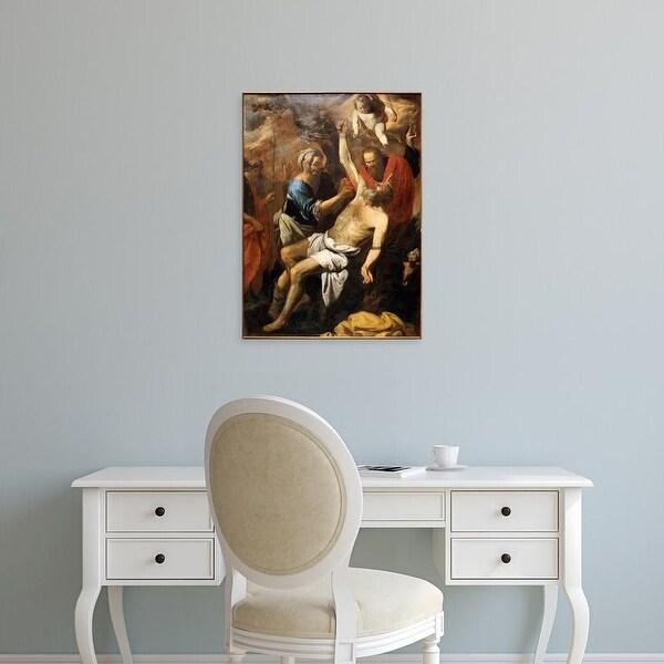 Easy Art Prints Pietro Novelli's 'Martyrdom of Saint Bartolomeo' Premium Canvas Art