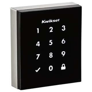 Kwikset 954OBN  Obsidian Touchscreen Electronic Deadbolt with Z-Wave Technology