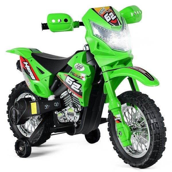 145a5d2e0 Costway Kids Ride On Motorcycle with Training Wheel 6V Battery Powered  Electric Toy