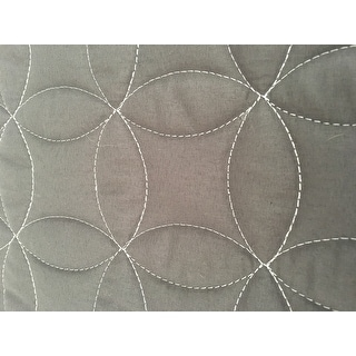 VCNY Hayden Embroidered Reversible Quilt Set