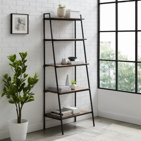 Carbon Loft Lahuri 72-inch Open Ladder Bookshelf
