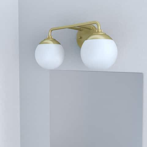 Hunter Hepburn 2 Light Vanity Wall Light