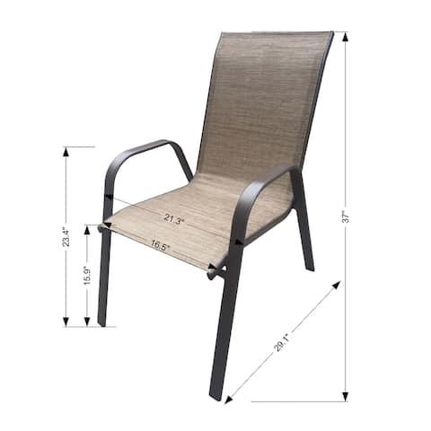 Stacking Patio Armchairs