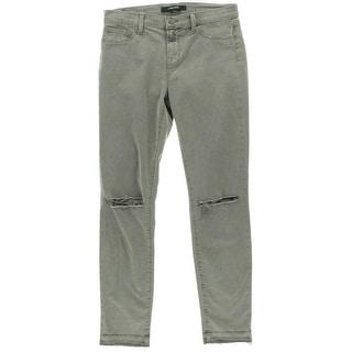 J Brand Womens Denim Destroyed Colored Skinny Jeans - 27