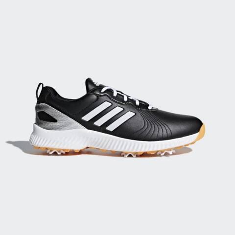 Adidas Women's Response Bounce Black/White/Gold Golf Shoes F33667