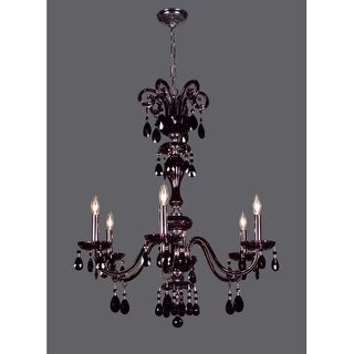 """Classic Lighting 82006- 34"""" Crystal Chandelier from the Monte Carlo Collection"""