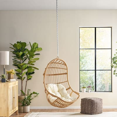 Richards Wicker Hanging Chair (No Stand) by Christopher Knight Home