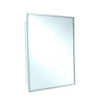 EZ-Set 500001 16 x 20 Inch Stainless Steel Framed Medicine Cabinet