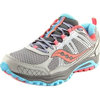 Saucony Grid Excursion TR10 Women W Round Toe Synthetic Gray Running Shoe