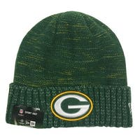 New Era Green Bay Packers Knit Beanie Cap Hat Official NFL 2017 Kickoff 11461156