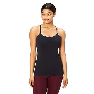 Link to Core 10 Women's Plus Size Yoga Fitted Support Tank, black, 2X - 2 Similar Items in Costumes