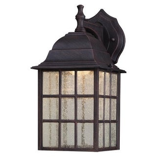Westinghouse 64000 LED Wall Mount Lantern, Weathered Patina