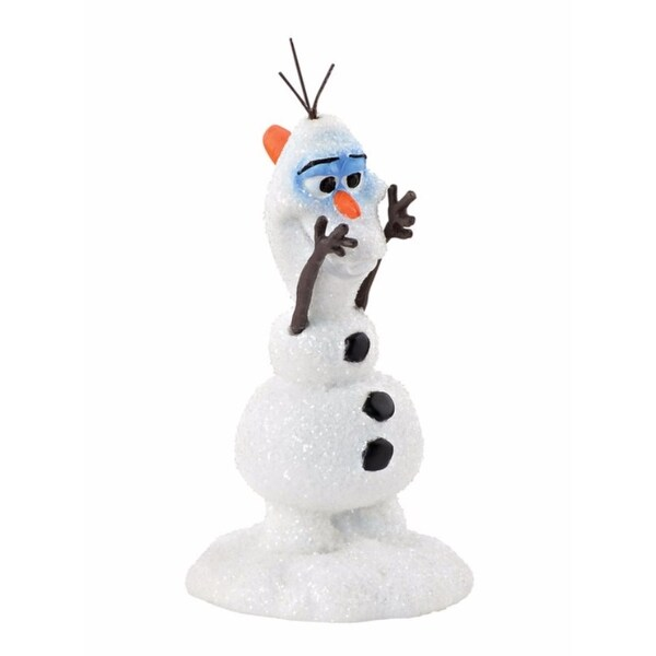 "Department 56 Decorative Disney Frozen ""Olaf's New Nose"" Christmas Figurine #4048965"