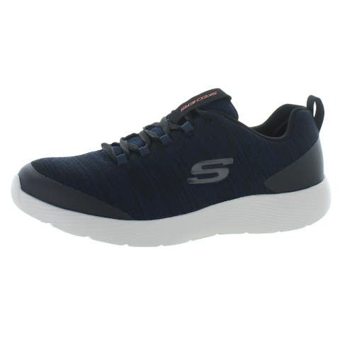 Skechers Mens Dyna Lite Rayve Running Shoes Fitness Workout - Navy/Black
