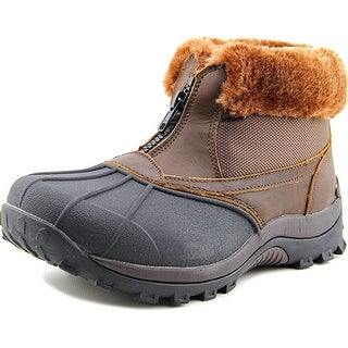 Propet Blizzard Ankle Zip Women D Round Toe Leather Boot