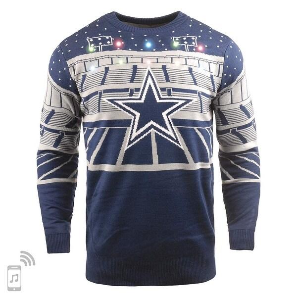 dbe7c02c Dallas Cowboys Light-up Bluetooth Speaker Sweater