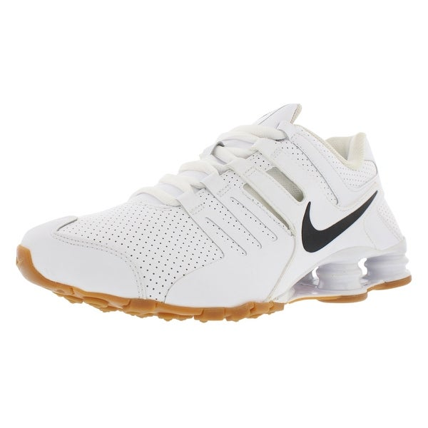 size 40 12d58 48685 ... white black metallic shops uk 25442 50528  ireland nike shox current  premium running menx27s shoes e697e a2548