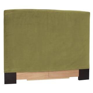 Howard Elliott Bella Moss Slipcovered Headboard Moss 100% Polyester Upholstery Headboard