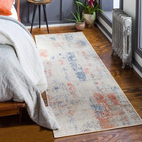 Keble Indoor/ Outdoor Abstract Area Rug