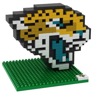 Jacksonville Jaguars 3D NFL BRXLZ Bricks Puzzle Team Logo