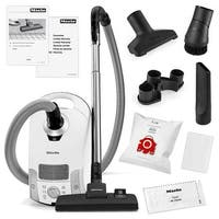 Miele Compact C1 Pure Suction Canister Vacuum Cleaner + SBD285-3 Rug & Floor Tool + Crevice Tool + Upholestry Tool + Dust Brush