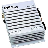 Pyle Audio PYLPLMRA120s PYLE PLMRA120 240-Watt 2-Channel Waterproof Marine/Car Amplifier