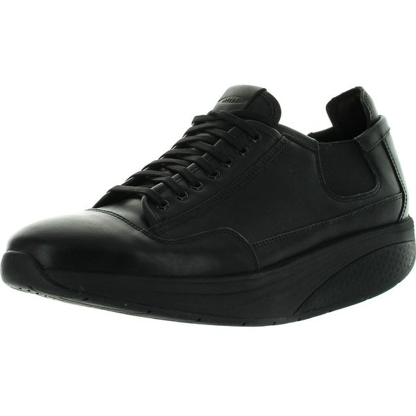 f67b31bed01d Shop Mbt Mens Nafasi Laceup Shoes - Black - Free Shipping Today ...