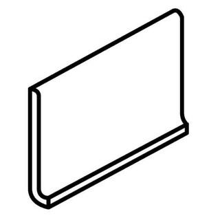 """Daltile K1A3361MODP Rittenhouse Square - 6"""" x 3"""" Cove Base Tile - Semi-Gloss Til"""