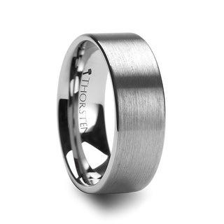 MERCURY Flat Brush Finish Tungsten Wedding Ring