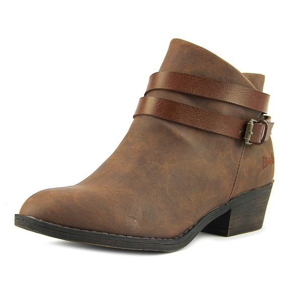 Blowfish Sanborn Women Round Toe Synthetic Bootie