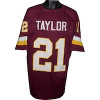 Sean Taylor unsigned Maroon Custom Stitched Pro Style Football Jersey XL
