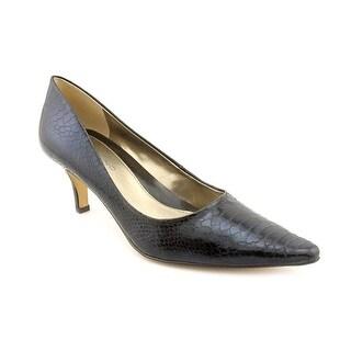 Bandolino Cheetah Women W Round Toe Synthetic Heels