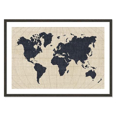 Continents - 42'' x 30''