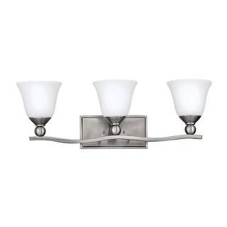 "Hinkley Lighting H5893 3 Light 26"" Width Bathroom Vanity Light from the Bolla Collection"