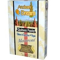 Andean Dream Gluten Free Organic Macaroni Quinoa Pasta - Case of 12 - 8 oz.