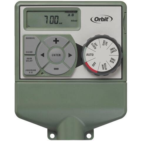 Orbit 57596 6-Station Easy Dial Indoor Sprinkler Timer