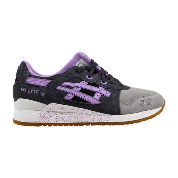 finest selection 178ca 28f76 Shop Asics Men's Gel Lyte III 3 Dark Grey/Sheer Lilac Full ...