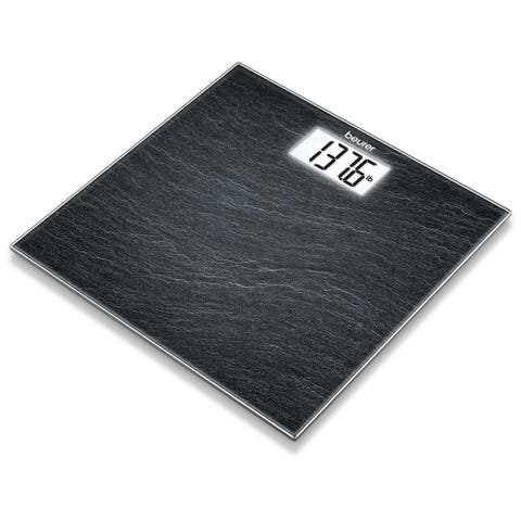 Beurer Slate Glass Bathroom Scale, GS203