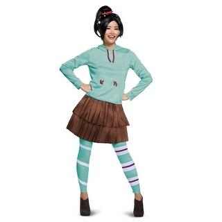 Womens Deluxe Vanelope Wreck It Ralph Costume