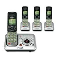 VTech CS6429-4 Expandable Cordless Phone w/ Backlit Display & 3 Extra Handsets