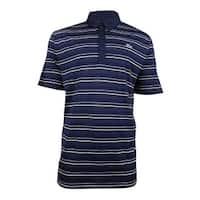 Lacoste Men's Sport Stripe Golf Polo Shirt - Navy Blue