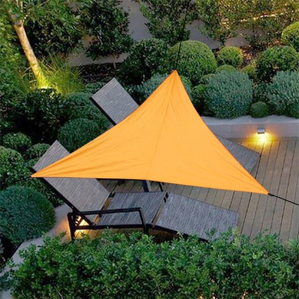 Outdoor Waterproof Triangular UV Sun Sail Shade Net Triangle Sun Sail Tent Camping Garden. Opens flyout.