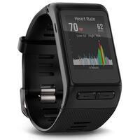 Garmin Vívofitactive HR GPS Smart Watch with Elevate Wrist Heart Rate Technology - Open Box - Black - 2.2 x 1.2 x 0.5