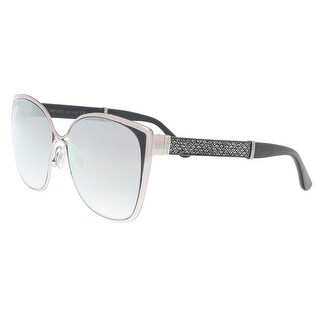 Jimmy Choo MATY/S 01B0 Light Gold Glitter Cat Eye Sunglasses - 58-14-140
