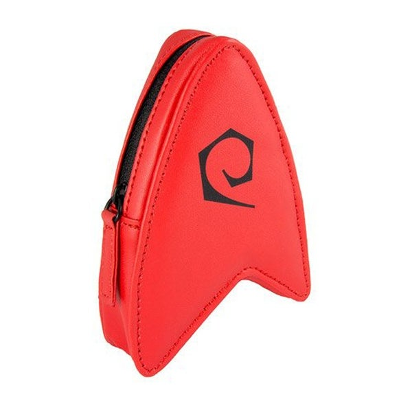 Star Trek The Original Series Coin Pouch Red Delta