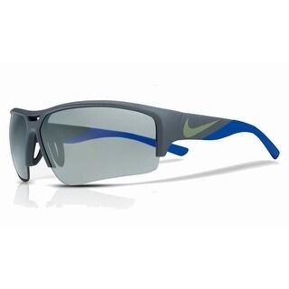 Nike Mens Golf X2 Pro Matte Squadron Blue/Racer Blue w/ Grey Gunmetal Flash Lens