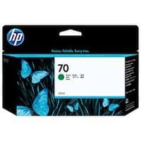 HP 70 130-ml Green DesignJet Ink Cartridge (C9457A) (Single Pack)