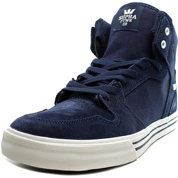 Supra Vaider Men Round Toe Suede Blue Skate Shoe