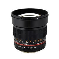 85 mm F1.4 Aspherical Lens for Canon AE with Automatic Chip