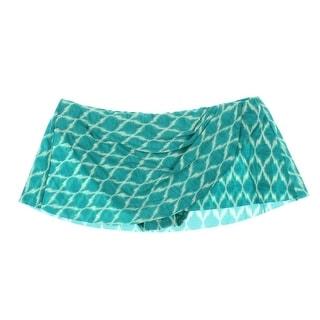 Robin Piccone Womens Skirt Faux Wrap Swim Bottom Separates - M